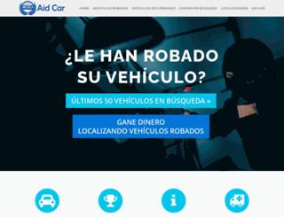 aid-car.com screenshot