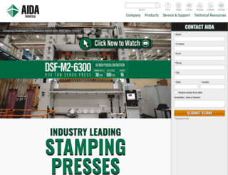 aida-global.com screenshot