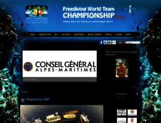 aida-worldchampionship.com screenshot