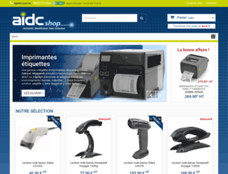 aidcshop.com screenshot