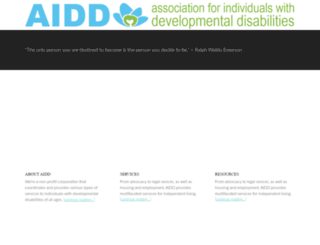 aiddservices.org screenshot