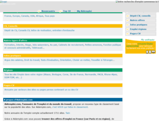 aidemploi.com screenshot