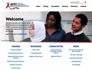 aidsetc.org screenshot