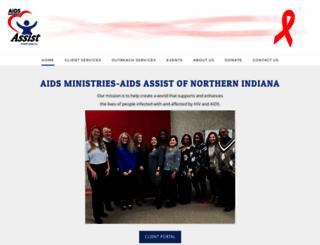 aidsministries.org screenshot