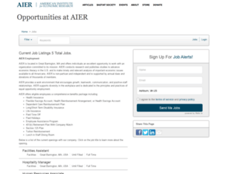 aier.applicantpro.com screenshot