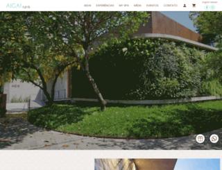 aigaispa.com.br screenshot