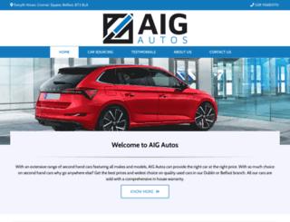 aigautos.co.uk screenshot