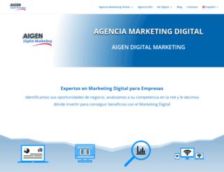 aigendigitalmarketing.com screenshot