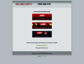 aigsecurity.net screenshot