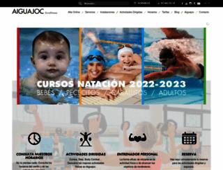 aiguajoc.com screenshot