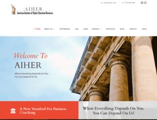 aiher.com screenshot