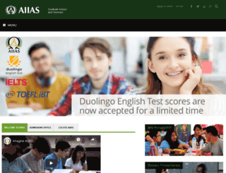 aiias.edu screenshot