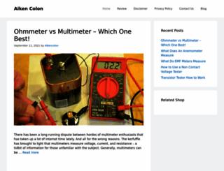 aikencolon.com screenshot