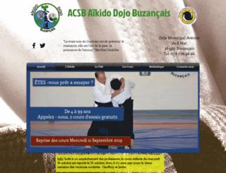 aikido-buzancais.com screenshot