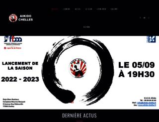 aikido-chelles.fr screenshot