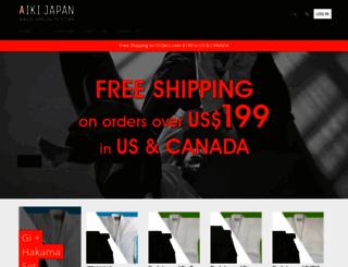 aikido-japan.com screenshot