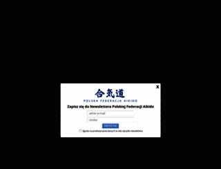 aikido.org.pl screenshot