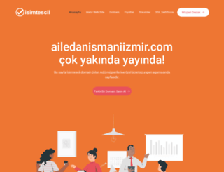 ailedanismaniizmir.com screenshot