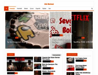 ailemerkezi.com screenshot