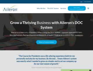 aileron.org screenshot