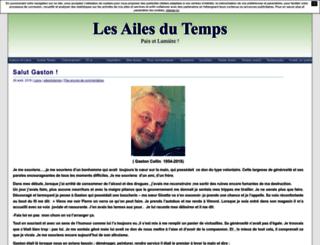 ailesdutemps.unblog.fr screenshot