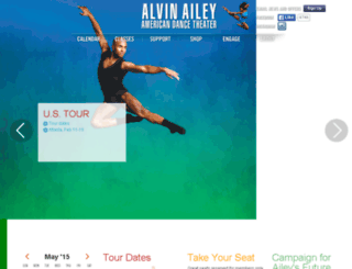 ailey-dev.alvinailey.org screenshot