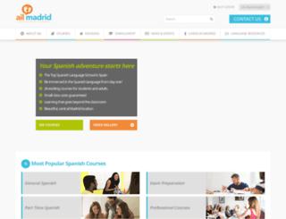 ailmadrid.com screenshot