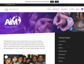 aim.ag.org screenshot