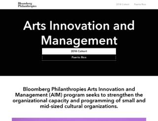 aim.bloomberg.org screenshot