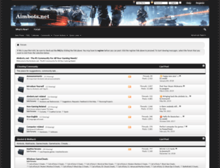 aimbots.net screenshot