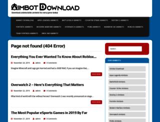 aimbotsdownload.com screenshot