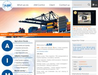 aimcontrolgroup.com screenshot