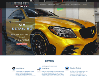 aimdetailing.com screenshot
