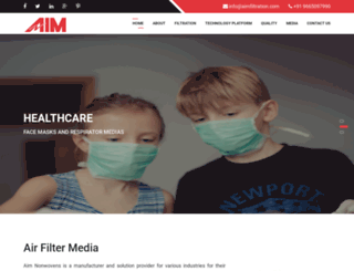 aimfiltration.com screenshot