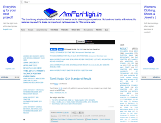 aimforhigh.blogspot.in screenshot