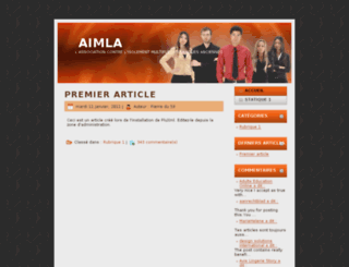 aimla.asso.fr screenshot