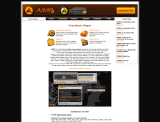aimp2.us screenshot