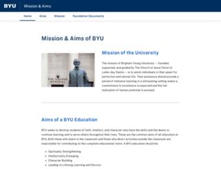 aims.byu.edu screenshot
