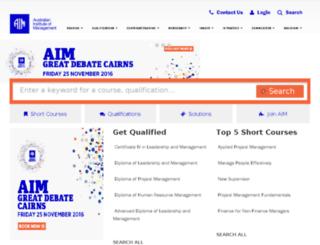 aimsa.com.au screenshot