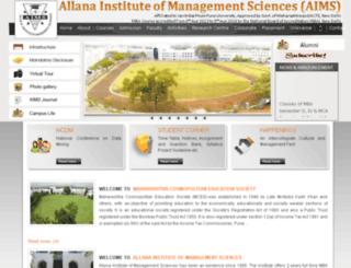 aimspune.org screenshot
