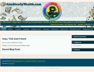 aimsteadywealth.com screenshot