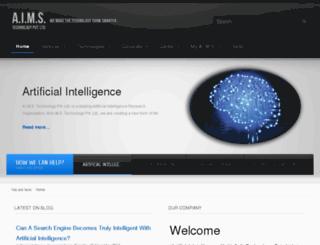 aimstechnology.com screenshot