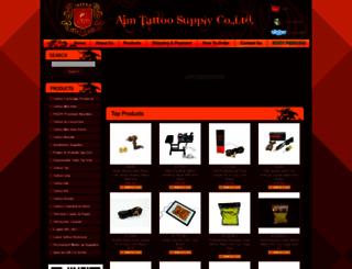 aimtattoosupply.com screenshot