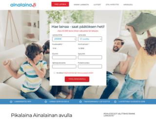 ainalaina.fi screenshot