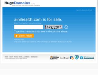 ainihealth.com screenshot