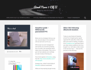 ainolelf2.wordpress.com screenshot