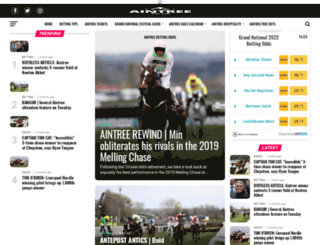 aintree.co.uk screenshot