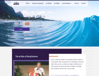 aiohawaii.com screenshot