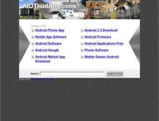 aiothudanu.com screenshot