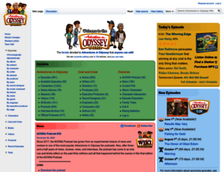 Access Aiowiki Com Adventures In Odyssey Wiki